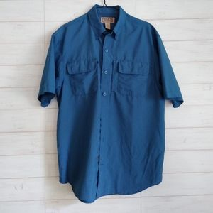 Duluth Men's Cool Plus Action Short Sleeve Shirt,
